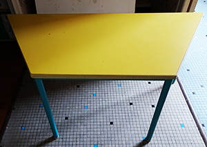 table trapèze enfant