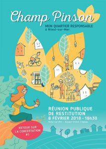 CDA_ChampPinson_FlyerA5_ReunionPublique_RetourConcertation_17281